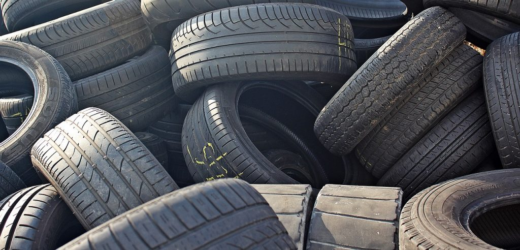 How to Recycle Old Car Tires